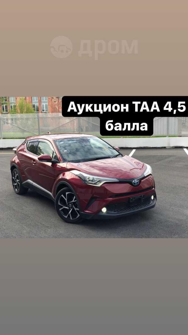 Toyota C-HR, 2017 год, 1 525 000 руб.