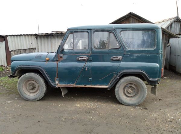 УАЗ 469, 1983 год, 47 000 руб.