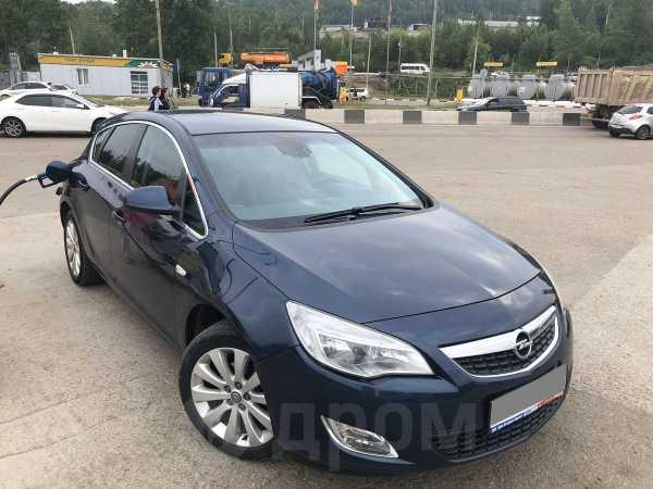 Opel Astra, 2010 год, 499 999 руб.