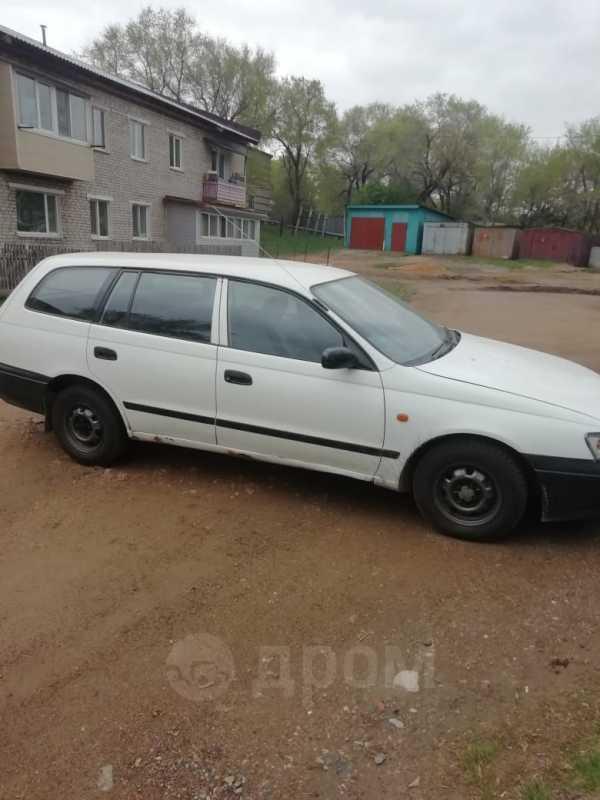 Toyota Caldina, 1993 год, 135 000 руб.