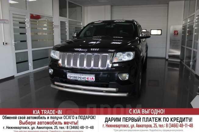 Jeep Grand Cherokee, 2012 год, 1 510 000 руб.