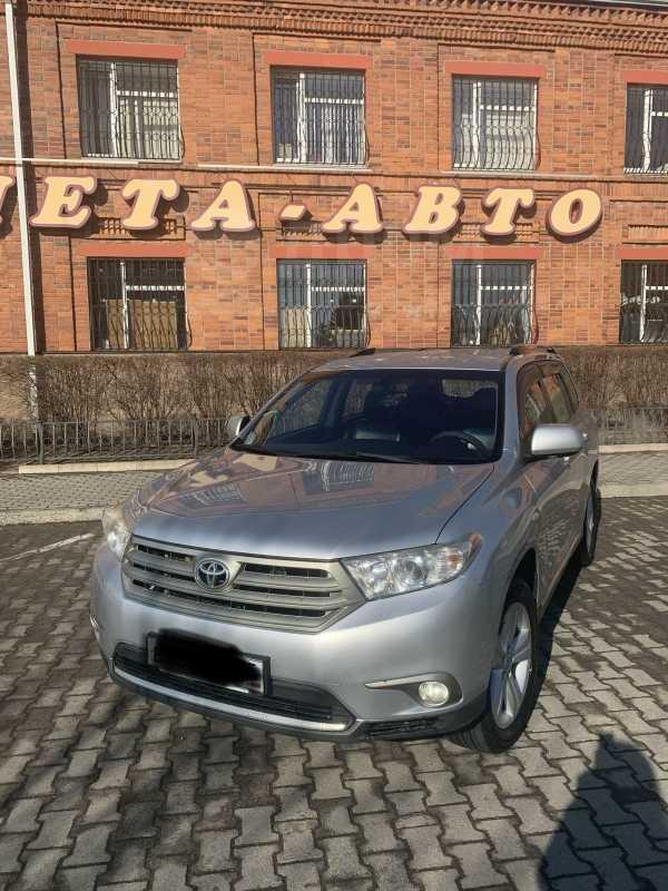 Toyota Highlander, 2012 год, 1 530 000 руб.