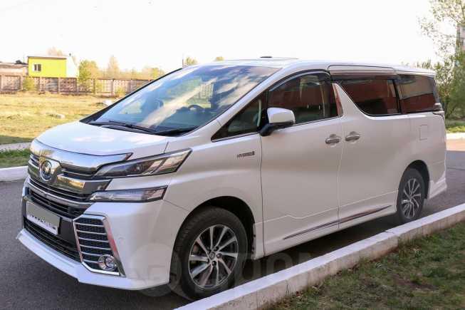 Toyota Vellfire, 2015 год, 2 600 000 руб.