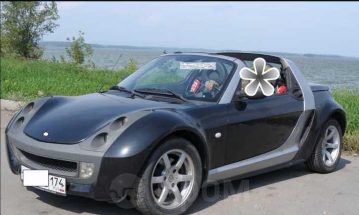 Smart Roadster, 2003 год, 480 000 руб.