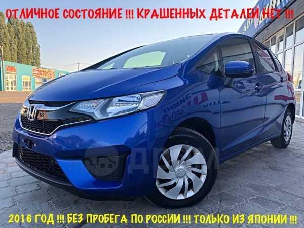 Honda Fit, 2016 год, 689 000 руб.