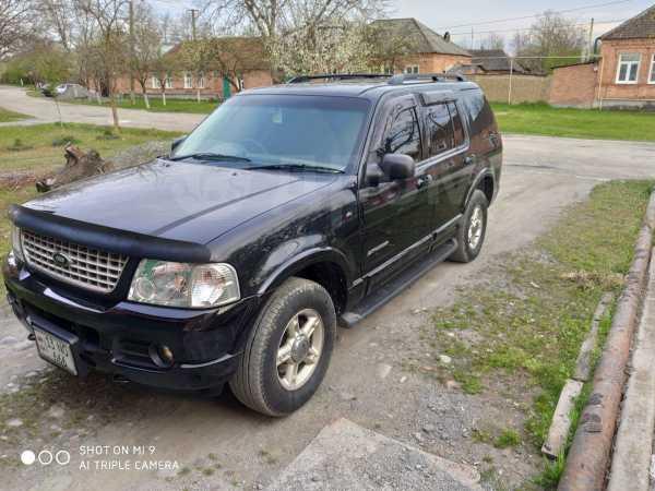 Ford Explorer, 2002 год, 460 000 руб.