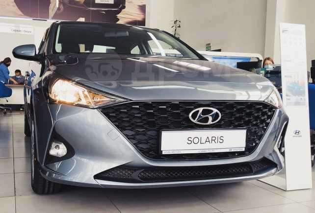 Hyundai Solaris, 2020 год, 1 070 777 руб.