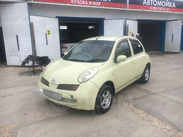 Nissan March, 2003 год, 178 000 руб.
