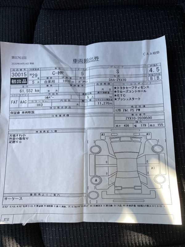 Toyota C-HR, 2017 год, 1 420 000 руб.