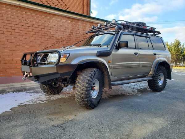 Nissan Patrol, 2001 год, 1 500 000 руб.
