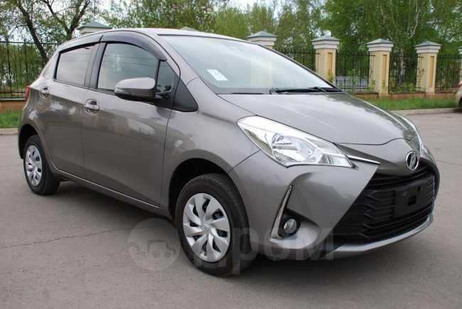 Toyota Vitz, 2017 год, 659 000 руб.