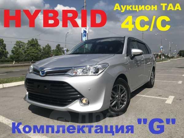 Toyota Corolla Fielder, 2016 год, 949 000 руб.