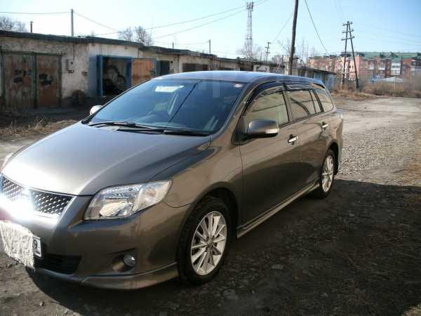 Toyota Corolla Fielder, 2011 год, 740 000 руб.