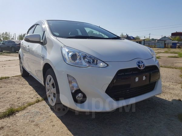 Toyota Aqua, 2017 год, 625 000 руб.