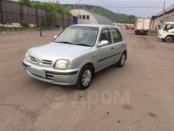 Nissan March, 1999 год, 119 000 руб.