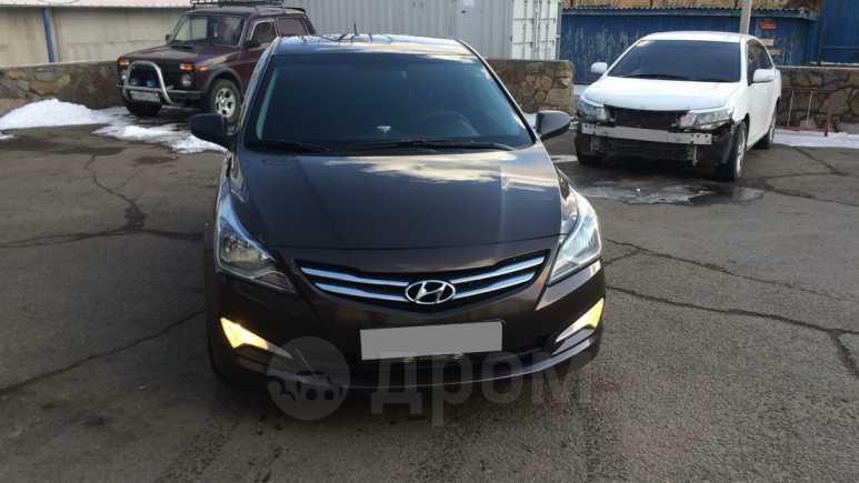 Hyundai Solaris, 2014 год, 605 000 руб.