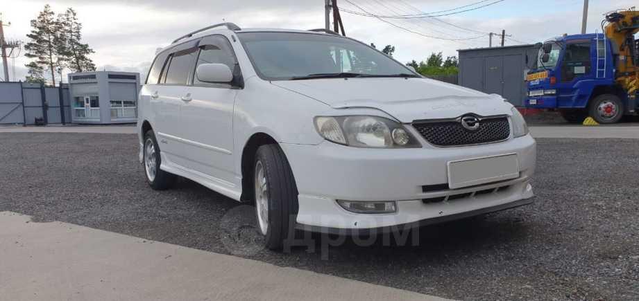 Toyota Corolla Fielder, 2001 год, 370 000 руб.