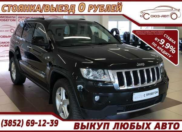 Jeep Grand Cherokee, 2012 год, 999 000 руб.