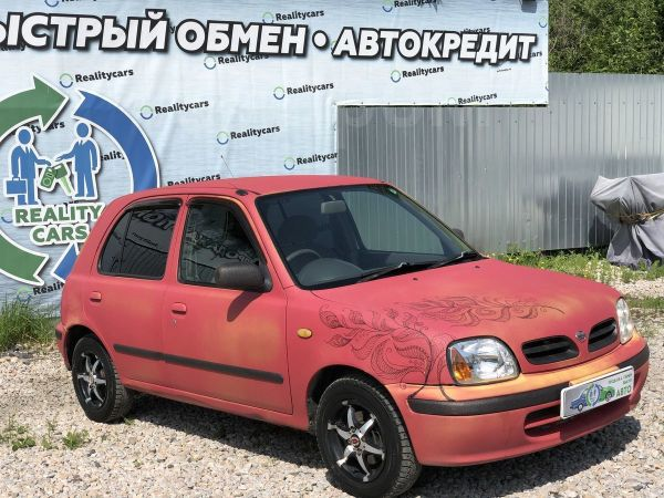 Nissan March, 2001 год, 105 000 руб.