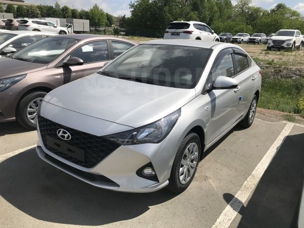 Hyundai Solaris, 2020 год, 877 000 руб.