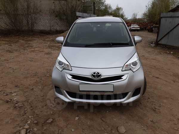 Toyota Ractis, 2014 год, 580 000 руб.