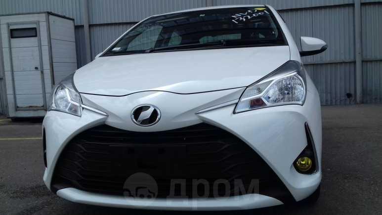 Toyota Vitz, 2017 год, 545 000 руб.