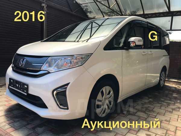 Honda Stepwgn, 2016 год, 1 235 000 руб.