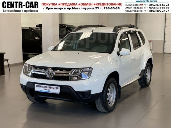 Renault Duster, 2018 год, 820 000 руб.