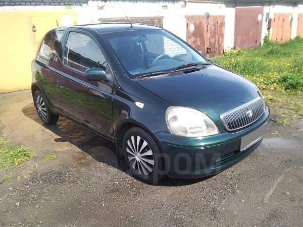 Toyota Yaris, 2001 год, 115 000 руб.