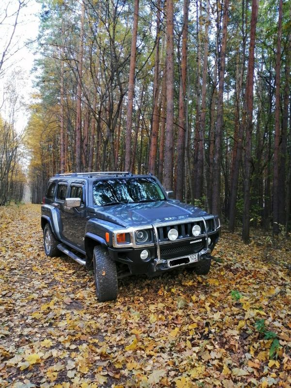 Hummer H3, 2008 год, 1 100 000 руб.