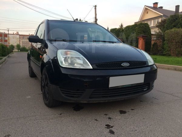 Ford Fiesta, 2004 год, 132 000 руб.