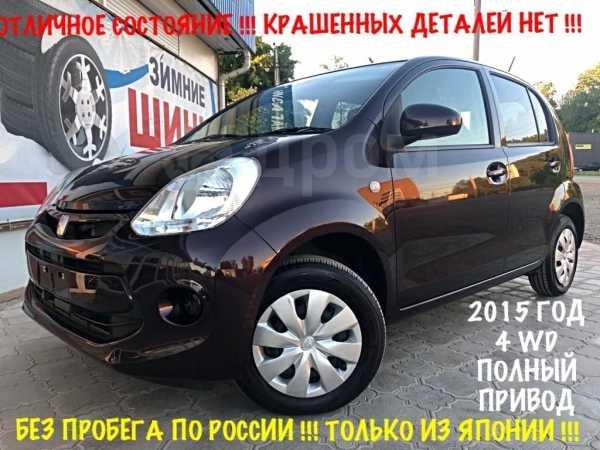 Toyota Passo, 2015 год, 499 000 руб.