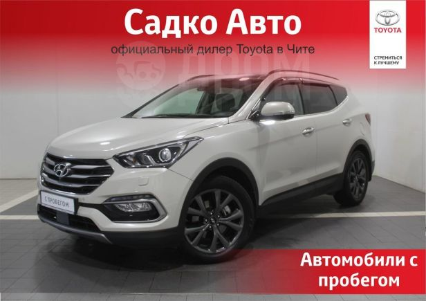 Hyundai Santa Fe, 2016 год, 1 595 000 руб.