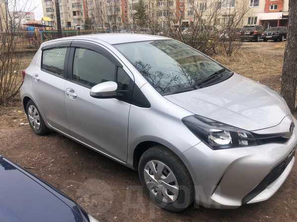 Toyota Vitz, 2016 год, 490 000 руб.