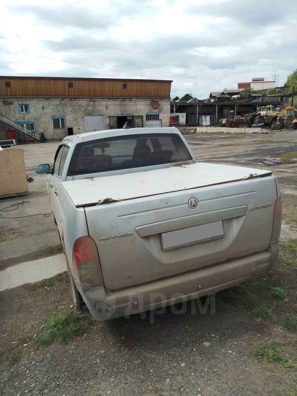 SsangYong Actyon Sports, 2008 год, 280 000 руб.
