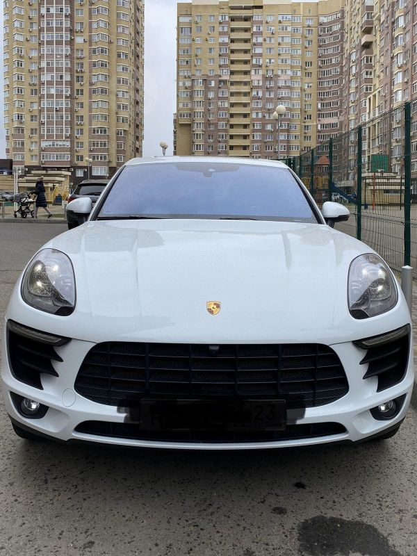 Porsche Macan, 2016 год, 3 350 000 руб.