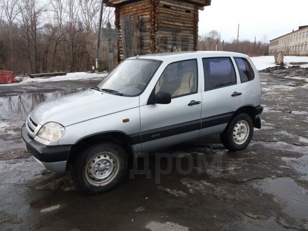 Chevrolet Niva, 2003 год, 105 000 руб.
