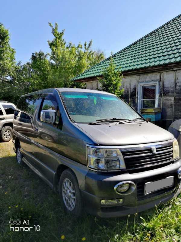 Nissan Elgrand, 2001 год, 400 000 руб.