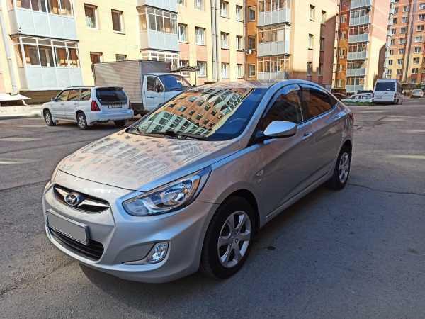 Hyundai Solaris, 2012 год, 468 000 руб.
