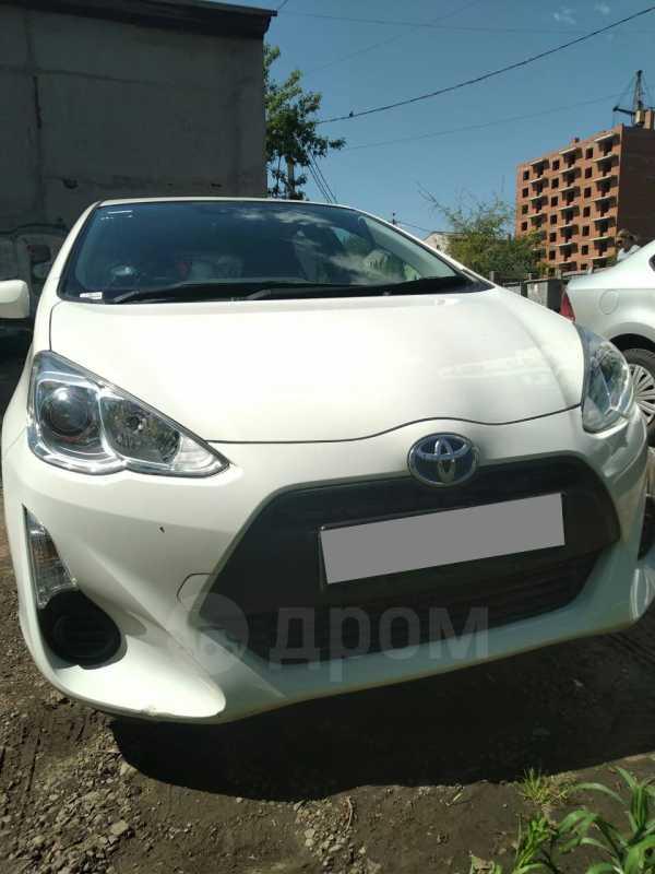 Toyota Aqua, 2016 год, 650 000 руб.