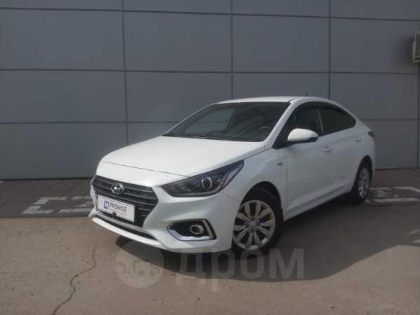 Hyundai Solaris, 2018 год, 819 000 руб.
