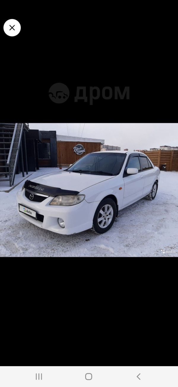 Mazda Familia, 2002 год, 280 000 руб.