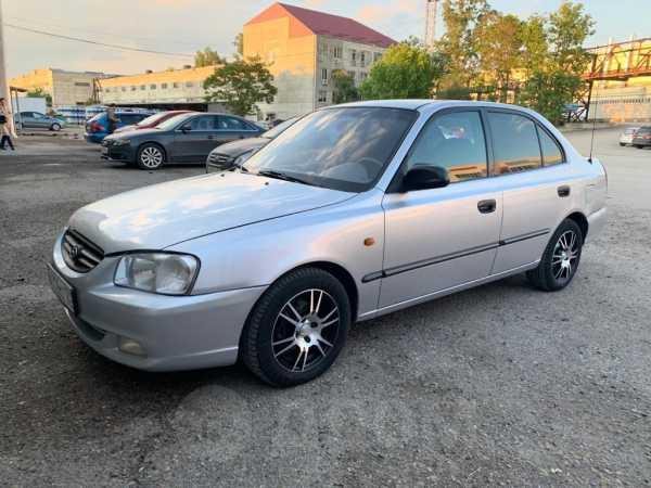 Hyundai Accent, 2000 год, 185 000 руб.