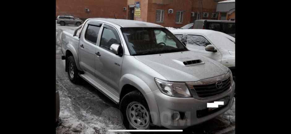 Toyota Hilux Pick Up, 2012 год, 830 000 руб.