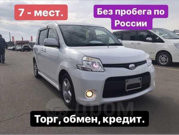 Toyota Sienta, 2012 год, 608 000 руб.
