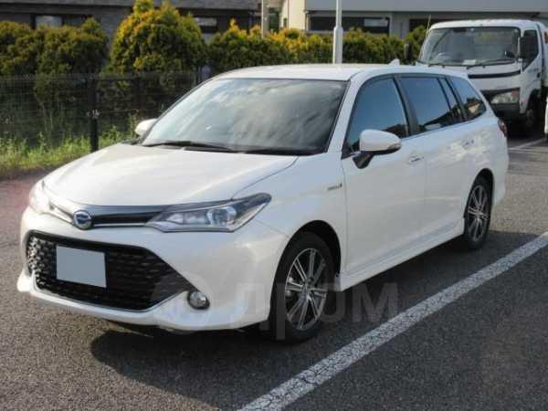 Toyota Corolla Fielder, 2017 год, 513 000 руб.