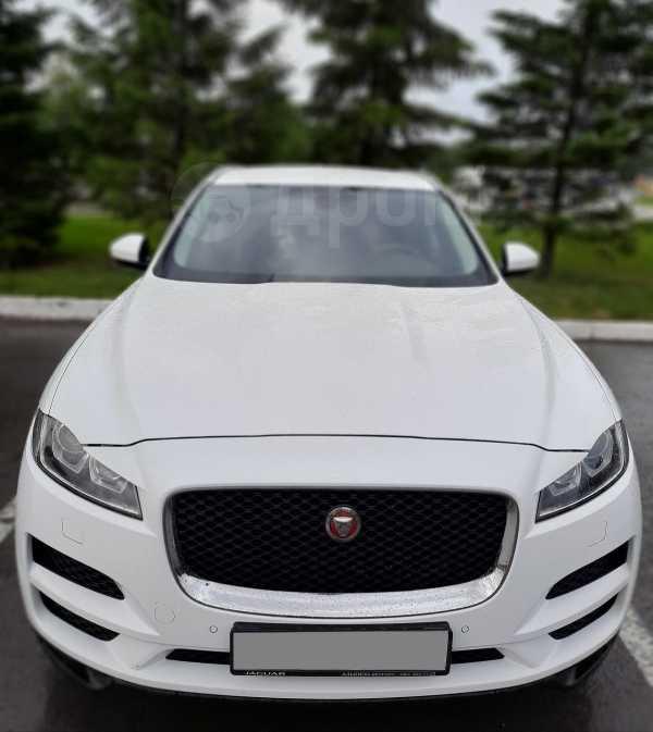 Jaguar F-Pace, 2017 год, 2 550 000 руб.