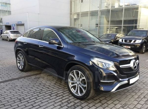 Mercedes-Benz GLE Coupe, 2016 год, 3 275 000 руб.