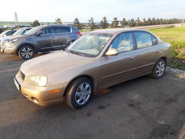 Hyundai Elantra, 2002 год, 190 000 руб.