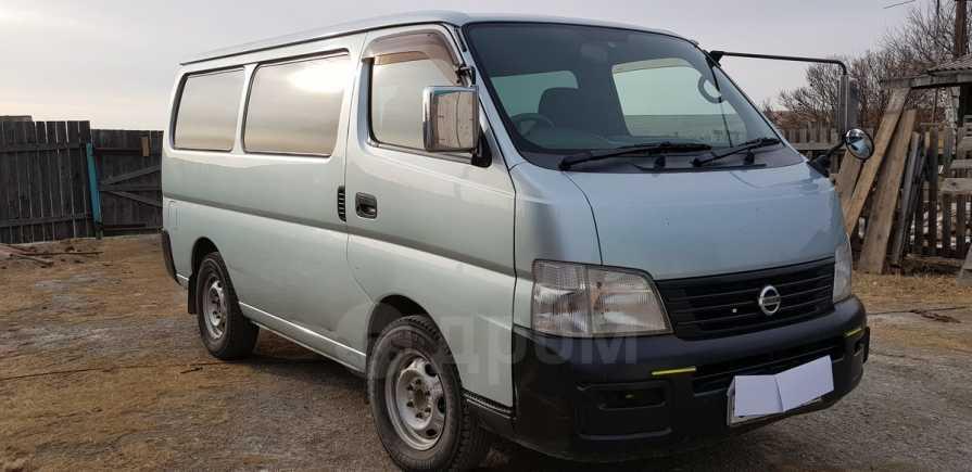 Nissan Caravan, 2002 год, 420 000 руб.